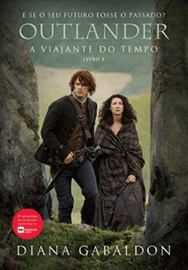 Capa do livro A Viajante do Tempo, Outlander 1