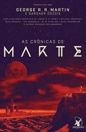 Capa do livro As Crônicas de Marte