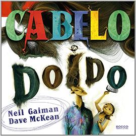 Capa do livro Cabelo Doido, de Dave McKean e Neil Gaiman