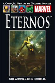 Capa do quadrinho Eternos
