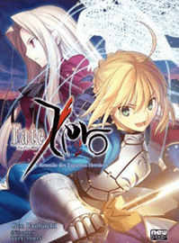 Capa da novel Fate/Zero volume 2
