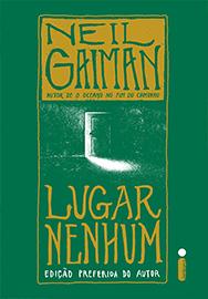 Capa do livro Lugar Nenhum, de Neil Gaiman