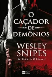 Capa do livro O Caçador de Demônios