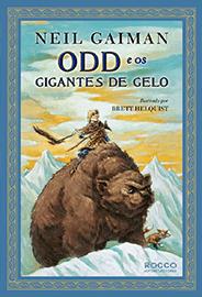 Capa do livro Odd e os Gigantes de Gelo, de Neil Gaiman