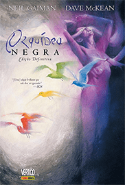 Capa do quadrinho Orquídea Negra