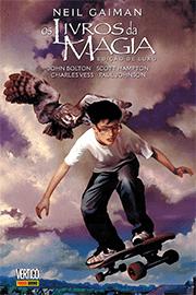 Capa do quadrinho Os Livros da Magia