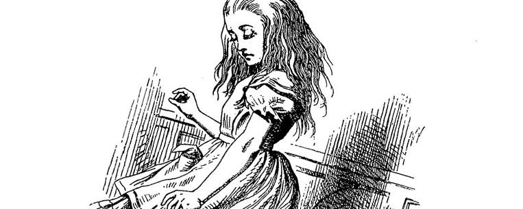 Ilustração do livro Alice no País das Maravilhas