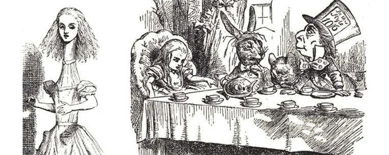 Ilustrações originais de Alice no País das Maravilhas