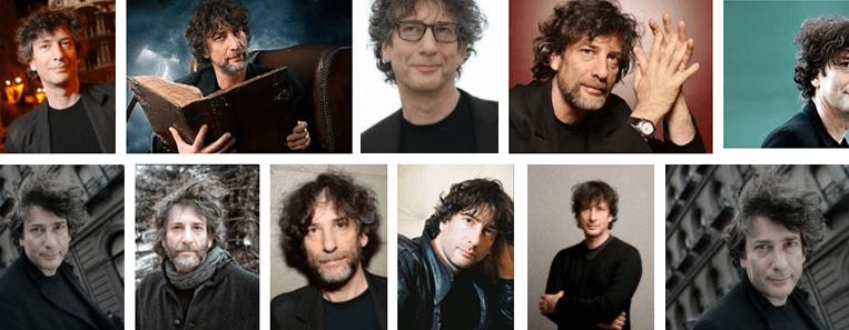 Prova que Neil Gaiman só veste roupas pretas