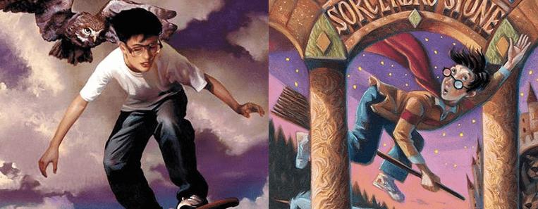 Comparação entre Timothy Hunter e Harry Potter