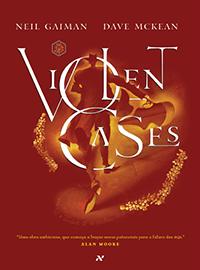 Capa do quadrinho Violent Cases